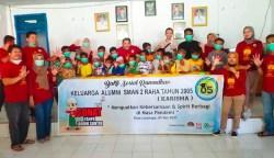 Alumni SMANDARA Angkatan 2005 Mengadakan Baksos Sunatan Masal di Desa Lasunapa