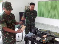 Denbekang Kenalkan Ransum Tempur TNI Kepada Wartawan