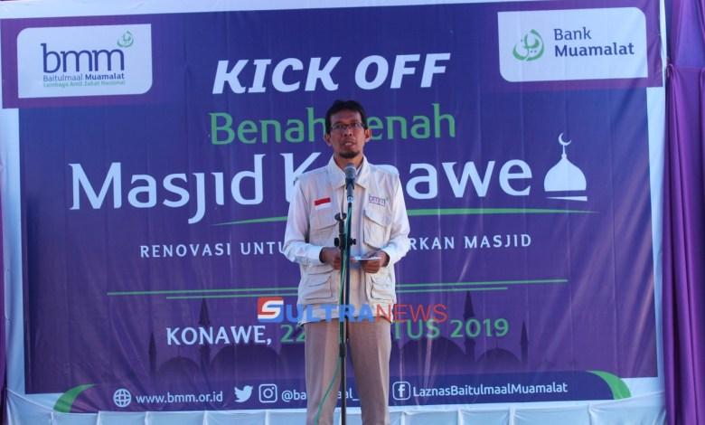 Makmurkan Masjid di Konawe, Teten Kustiawan: Sholat Subuh Menjadi Indikator dari Pendirian Masjid