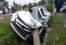 Photo of Tumbang Dihantam Mobil Pajero Sport, Netizen : RIP Tiang Listrik