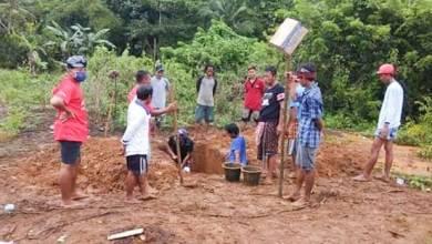 Photo of Foto Tempat Peristirahatan Terakhir Komang, Pelaku Pembunuhan Anggota TNI di Baubau
