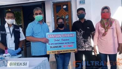 Photo of Pemprov Sultra Salurkan Bantuan Paket Sembako Ke Nasabah Bank Bahteramas Butur