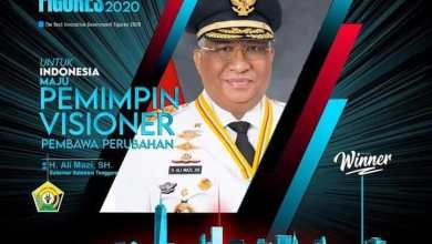 Photo of Gubernur Ali Mazi Raih Penghargaan Dalam The Best Indonesian Innovative Figures Awards 2020