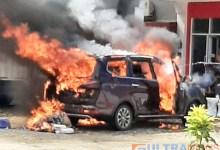 Photo of Mobil Wuling Milik Pedagang Kacamata di Kolut Meledak Saat Parkir