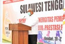 Photo of Ali Mazi Buka Rapat Anggota Koni Sultra Persiapan Pon Ke-xx/2021 Papua
