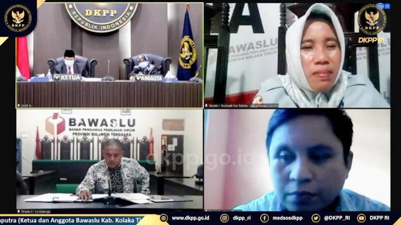 DKPP periksa Bawaslu Koltim