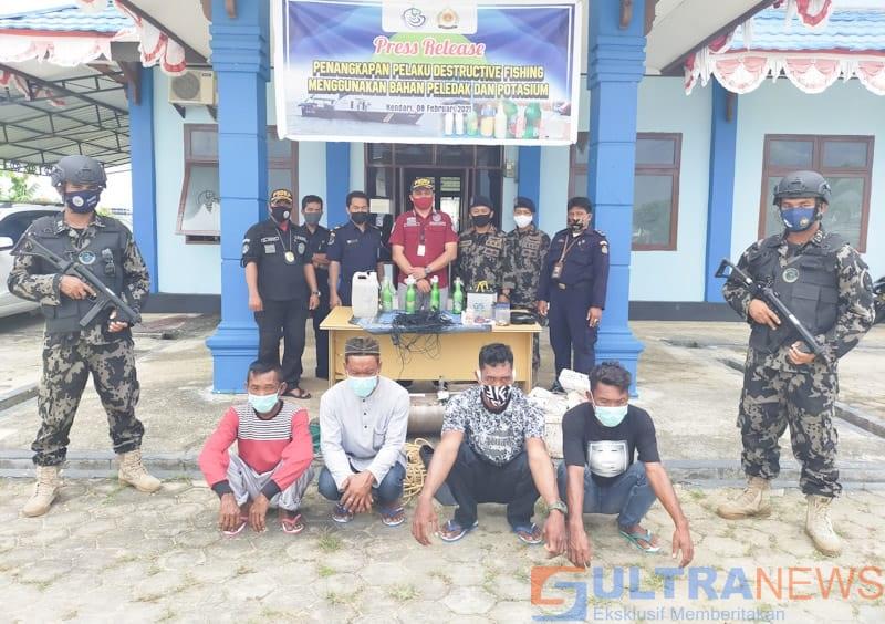 nelayan pakai bom ditangkap