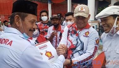 Gerindra Sultra Penuhi Janji Politiknya Berikan Kendaraan Operasional Kepada 12 PAC di Koltim