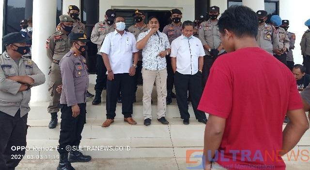 PT. TPM Diduga Merusak Bibir Sungai, NGO Konawe Demo DPRD dan DLHK