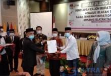 KPUD Konsel Resmi Tetapkan Surunuddin-Rasyid sebagai Bupati dan Wakil Bupati Terpilih