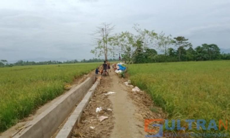 Pemdes Wukusao Buat Saluran Tersier Sepanjang 400 Meter Senilai Rp 300 Juta