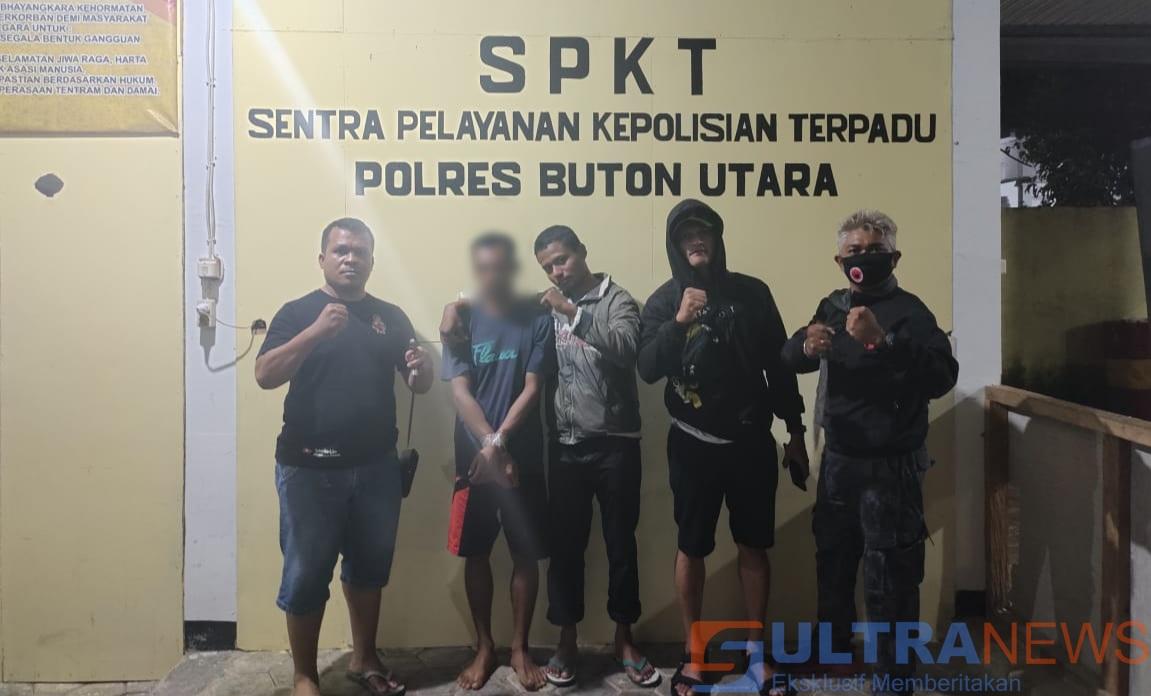 Ancam Siswa dengan Sajam, Pria di Butur Diringkus Polisi