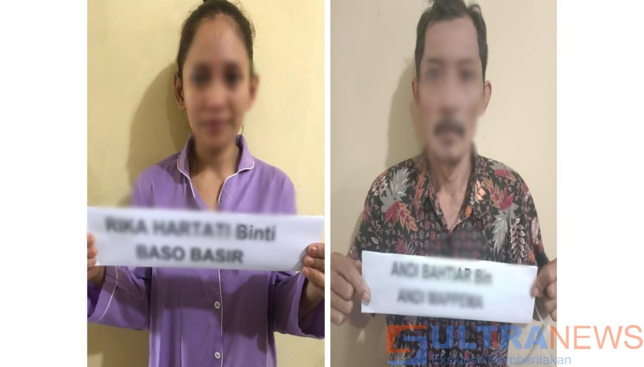Dua Pengedar Sabu Asal Koltim dan Konsel di Tangkap Polisi di Kendari