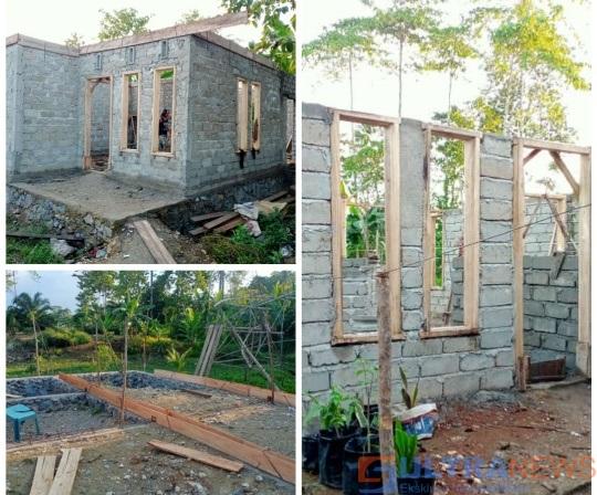 Berkat dari Anggaran DD, Tiga Warga di Konawe Nikmati Rumah Barunya