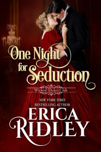 One Night of Seduction by Erica Ridley Blog Tour   Review