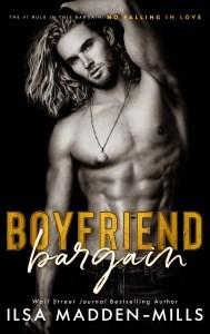Boyfriend Bargain by Ilsa Madden-Mills Blog Tour | Dual Review