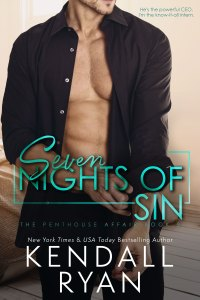 Seven Nights of Sin by Kendall Ryan Release Blitz & Review