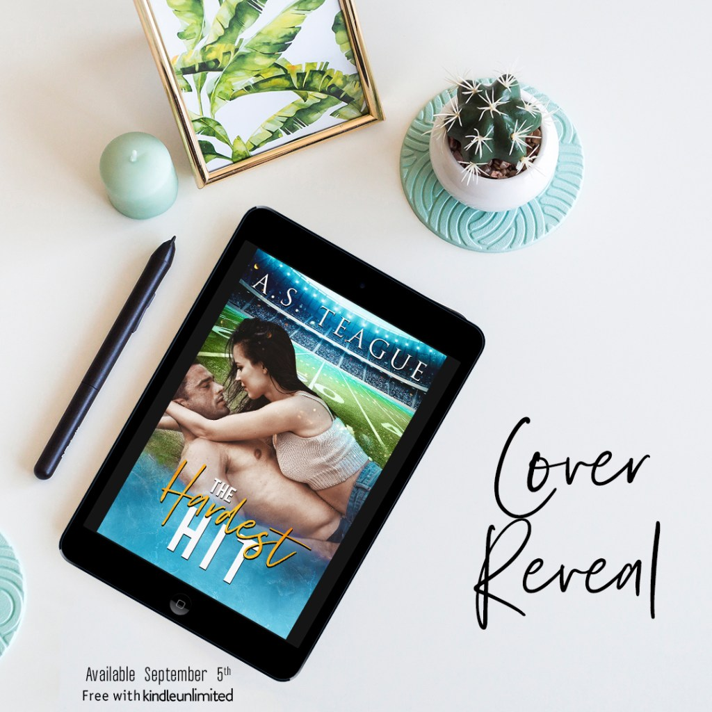 The Hardest Hit by AS Teague Cover Reveal