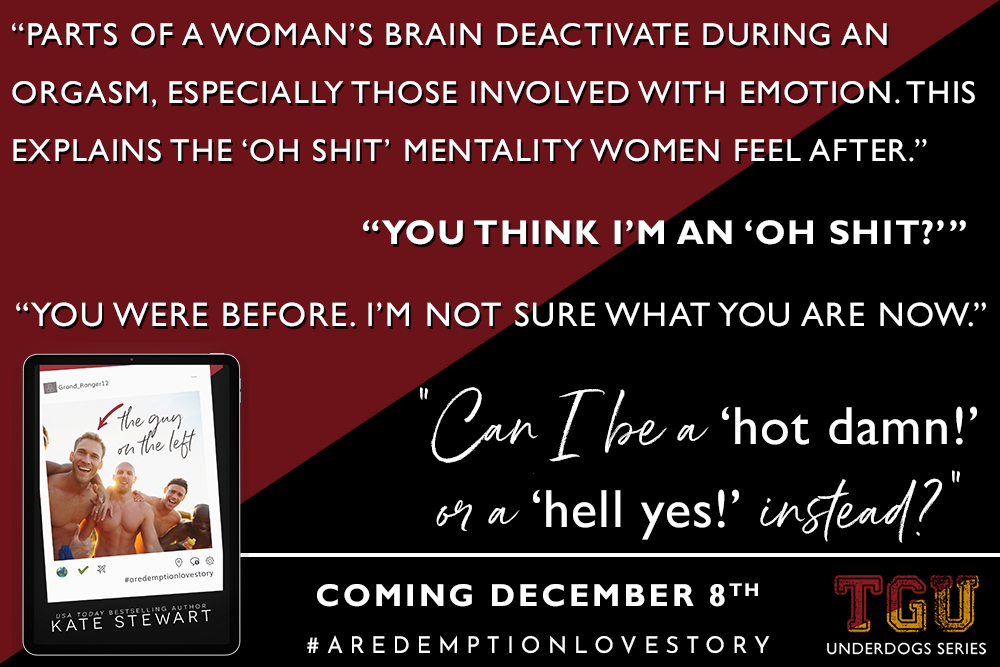 The Guy on the Left by Kate Stewart Teaser