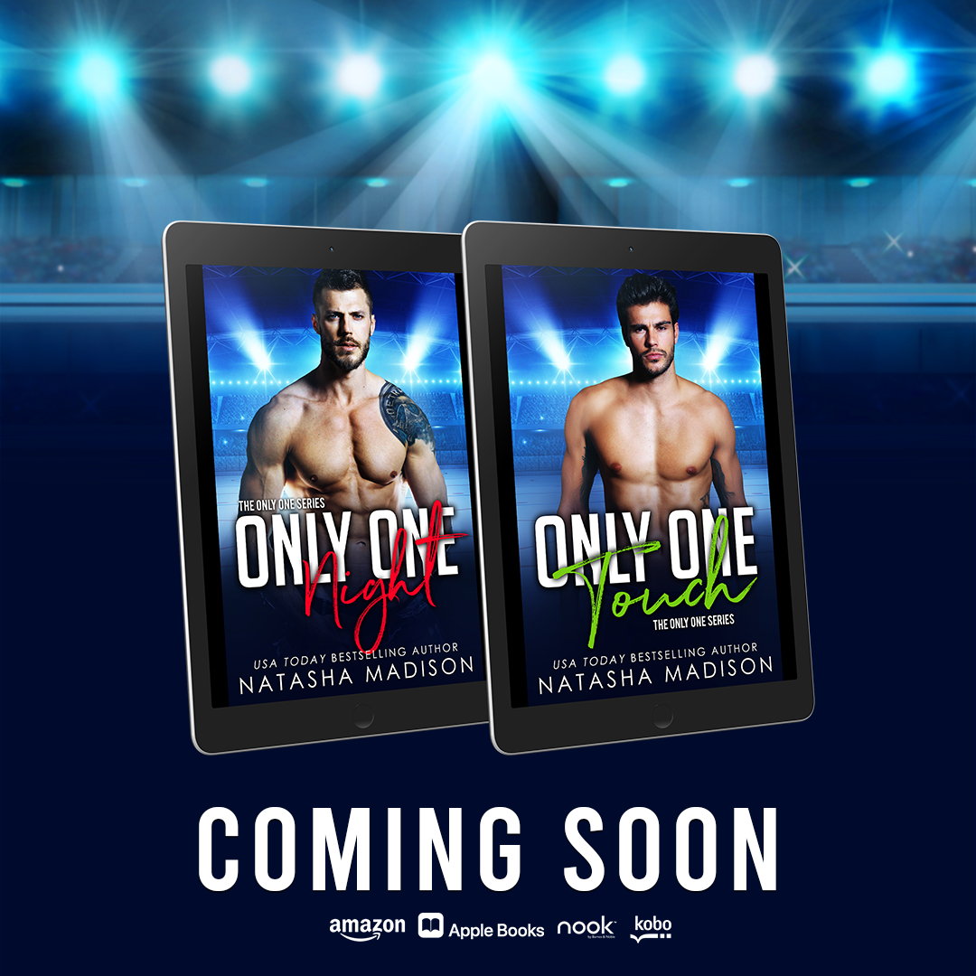 ONLY ONE NIGHT & ONLY ONE TOUCH by Natasha Madison Double Cover Reveal