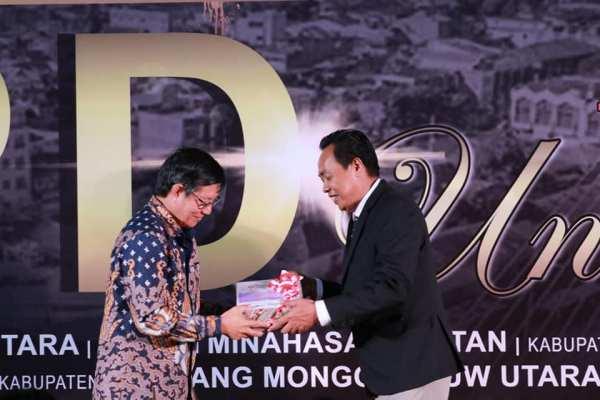 Walikota Serahkan LKPD 2019 Kepada BPK RI Perwakilan Sulut