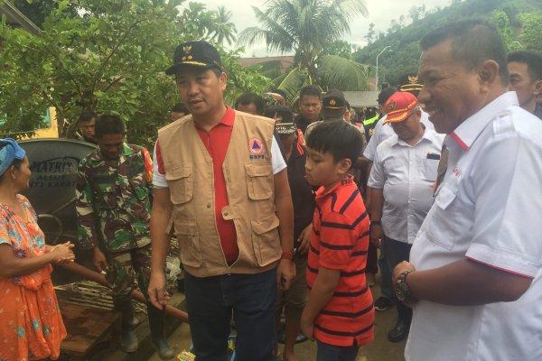 Turun ke Lokasi Bencana, Bupati Bolmut Apresiasi Wagub Kandouw