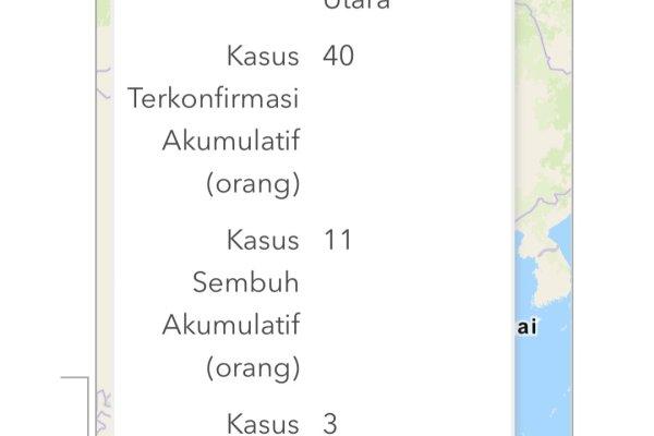 Positif Covid 19 di Sulut Bertambah 4 Pasien, Total 40, Sembuh 11 Orang