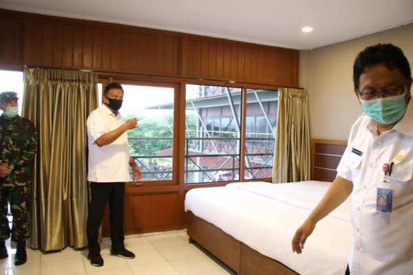 Gubernur OD Siapkan Villa Dahlia Jadi Tempat Tinggal Tenaga Medis Covid-19