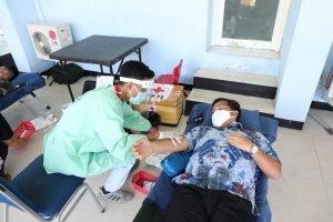 Wagub Kandouw Ajak Masyarakat Donor Darah Bantu Penuhi Stok Darah PMI di Tengah Pandemi Corona