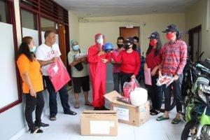 Salut! Keluarga Dondokambey-Tamuntuan Kembali Sumbang APD untuk Bantu Tenaga Medis Lawan Corona