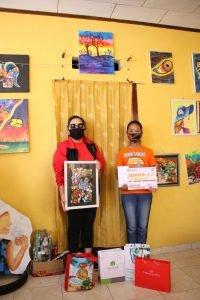 Lawan Covid-19, Ibu Rita Apresiasi Lomba Bagambar deng Keluarga #dirumahjo