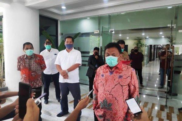 Minta Kabupaten Kota Siapkan Rumah Singgah dan Lahan Pemakaman Korban Covid-19, Gubernur Olly: Kita Lakukan Secara Gotong Rotong