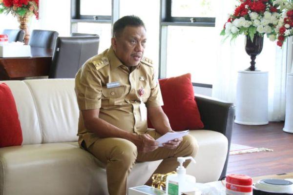 Gubernur Olly Apresiasi KPK Dorong Pemerintahan yang Transparan dan Akuntabel