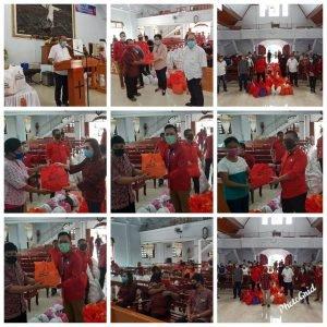 Sasar Pulau Lembeh, Pemprov Sulut Sebar 3200 Paket Sembako