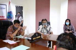 Wagub Kandouw Ikuti Vidcon Bersama Mendagri Bahas Lomba Inovasi Daerah Dalam Penyiapan Tatanan Normal Baru
