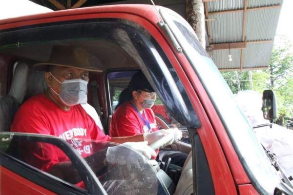 Viral Gubernur Olly Nyetir Dump Truk Jualan Kopra ke Bitung