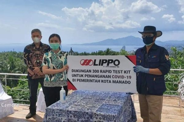 Siloam Lippo Group Bantu Pemkot Manado, Bersama Memutus Mata Rantai Pandemi Covid-19