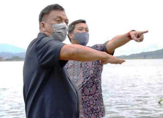 Gubernur Olly Optimis Danau Tondano Bebas Eceng Gondok pada Desember 2020
