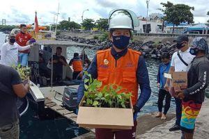 Walikota GSVL Sambangi Bunaken Kepulauan Bawah Bibit Rica dan Jagung