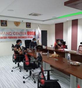 Ikuti Rakor Online, Sekdaprov Silangen dengan KPK Bahas Penertiban Aset Pemda