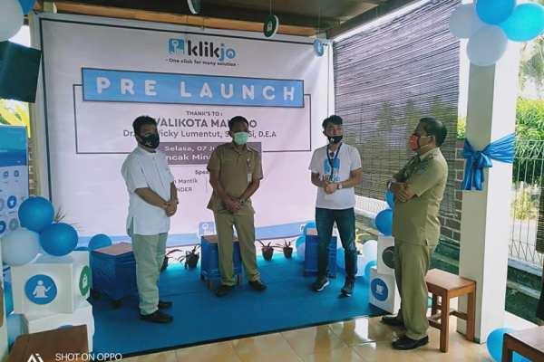 Ini Pesan Walikota GSVL Pada Pra Launching Klikjo
