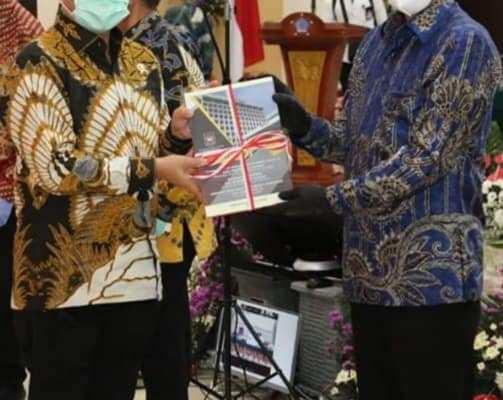 Walikota GSVL Hadiri Rakor Pilkada Serentak