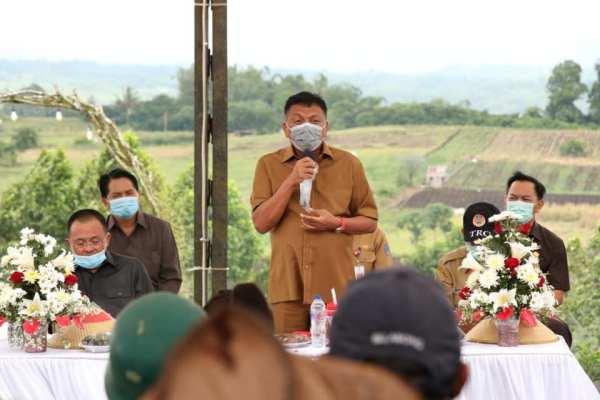 Kunker ke Tomohon, Kabar Gembira Ini Yang Disampaikan Gubernur Olly untuk Petani Sulut