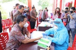 Kunci Aktivitas Ekonomi Aman Covid-19, Wagub Kandouw : Disiplin Patuhi Protokol Kesehatan