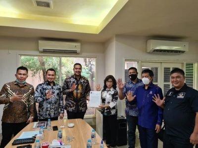 DPP Nasdem Sepakat Usung JPAR – Ai, di Pilwako Manado 2020-2025