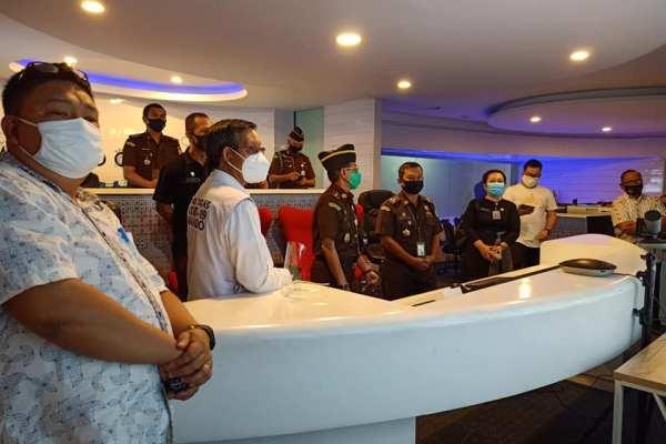 Diterima Walikota GSVL, Kajati Sulut Kunjungi C3 Kota Manado