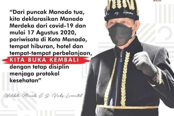 Dispar Manado Bentuk Pokdarwis dan Disupport Kemenparekraf, Tindaklanjut Deklarasi Pariwisata Adaptasi Kebiasaan Baru dari Walikota GSVL