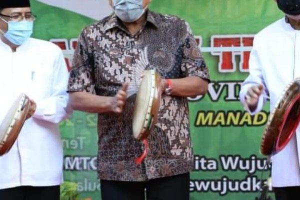 Gubernur Olly Buka MTQ ke-28 Tingkat Provinsi Sulut