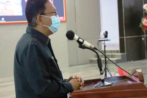 Ini Pesan Sekdaprov Silangen Saat Menghadiri Pengukuhan Pengurus DWP Sulut 2019-2024
