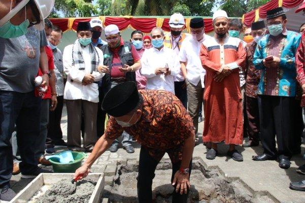 Apresiasi Menara Masjid Raya Ahmad Yani, Gubernur Olly: Ini Bakal Jadi Destinasi Wisata Religi